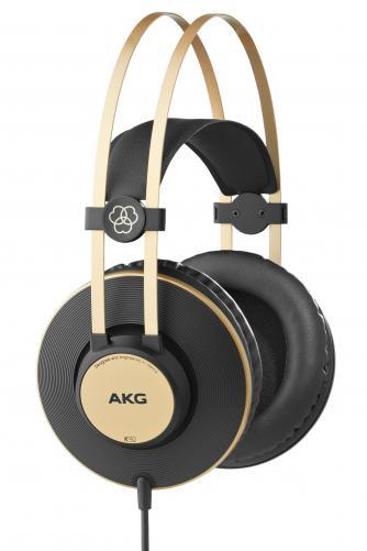 Fone de Ouvido K92 (Linha Profissional) Preto/Dourado - AKG