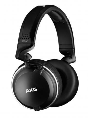 Fone de Ouvido K182 (Linha Profissional de Alta Definição) Preto - AKG