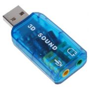 Adaptador de Som Usb 5.1 Virtual AD85 - 1 Mais