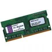 Memória para Notebook Apple SODIMM 4GB 1333Mhz DDR3 KTA-MB1333S/4G - Kingston