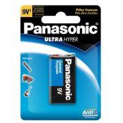 Bateria Super Hyper 9V 6F22UPT/1B - Panasonic