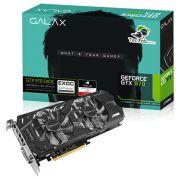 Placa de Vídeo Geforce GTX970 EXOC Black 4GB 256Bit 97NQH6DNB4RO - Galax