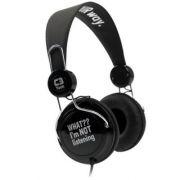 Headphone Noir MI-2322 RB Preto - C3tech