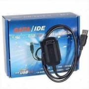 Cabo Conversor USB para IDE e SATA c/ Fonte AD7 - Brand