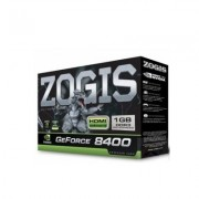Placa de Video GeForce 8400GS 1GB DDR3 64B PCI-E ZO84GS-1GD3HP - Zogis