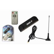 Receptor de TV Digital com Controle AD0020 - TV Stick