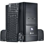 Computador Intel Core i5 4570T 3.6Ghz Memória 4GB HD 500GB DVD-RW HDMI USB 3.0 + Teclado, Mouse e Caixa de Som