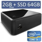 Ultratop Centrium NUC3217U264 Intel Core I3 3217U 2GB SSD 64GB HDMI USB Rede Linux - Intel