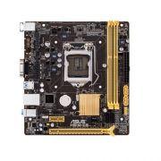 Placa Mãe LGA 1150 H81M-CS (S/V/R) - Asus