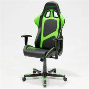 Cadeira F-Series OH/FE09/NE Preto/Verde - DXRacer