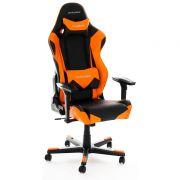 Cadeira R-Series OH/RF0/NO Preto/Laranja - DXRacer