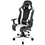 Cadeira K-Series OH/KF06/NW Preto/Branco - DXRacer