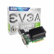 Placa de Video GeForce GT630 2GB DDR3 128Bits Low Profile 02G-P3-2633-KR - EVGA