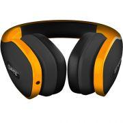 Fone de Ouvido Headphone Pulse P2 Amarelo/Preto PH148 - Multilaser