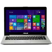 Notebook S400CA-CA215H Intel Core i5 4GB 500GB Tela Touch Led 14 HDMI WiFi Windows 8 - ASUS