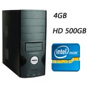 CPU G7 Intel Dual Core 3.2Ghz Memória de 4GB HD de 500GB DVD-RW - Glacon