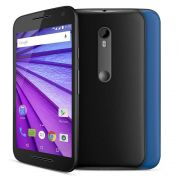 Smartphone Moto G 3 Geração Colors XT1543 V2, Quad Core, Android 5.1.1, Tela 5.0, 16GB, 13MP, 4G, Preto - Motorola