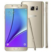 Smartphone Galaxy Note 5 SM-N920G Dourado com 32GB Tela de 5.7 Câmera 16MP 4G Android 5.1 e Processador Octa-Core - Samsung