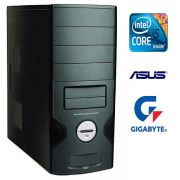 CPU G11 Intel Core i5 3.10Ghz Memória de 4GB 1333Mhz Kingston HD de 1TB DVD-RW - Glacon