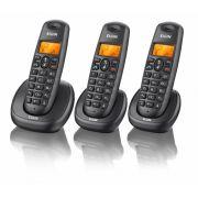 Telefone sem fio com dois ramais TSF-7003 - Elgin