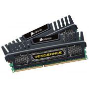 Memória Vengeance 16GB (2x8GB) 1600MHz DDR3 CL10 CMZ16GX3M2A1600C10 Preta - Corsair