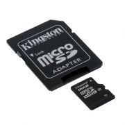 Cartão de Memória Micro SD 16GB Classe 10 + Adaptador SDC10G2/16GB - Kingston16GB