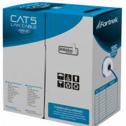 Cabo de Rede CAT5 CAT-102/305 305 Metros Azul - Fortrek