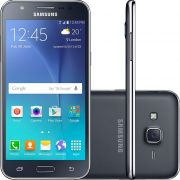 Smartphone Galaxy J5 Duos SM-J500M/DS, Quad Core 1.2Ghz, Android 5.1, Tela 5, 16GB, 13MP, 4G, Dual Chip, Preto - Samsung