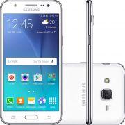 Smartphone Galaxy J5 Duos SM-J500M/DS, Quad Core 1.2Ghz, Android 5.1, Tela 5, 16GB, 13MP, 4G, Dual Chip, Branco - Samsung