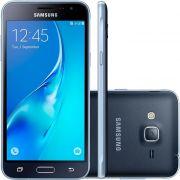 Smartphone Galaxy J3 SM-J320M/DS, Quad Core 1.5 Ghz, Android 5.1, Tela de 5, 8GB, 8 MP, 4G, Dual Chip, Preto - Samsung