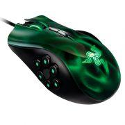 Mouse Gamer Laser Naga Hex Green 5600DPI USB RZ01-00750100-R3U1 - Razer