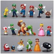 Miniaturas Bonecos Action Figure Super Mario Bros(a unidade)