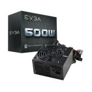 Fonte ATX 600W 100-W1-0600-K1 80 Plus PFC Ativo - EVGA