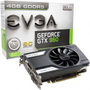 Placa de Vídeo Geforce GTX960 4GB SC DDR5 128Bits 04G-P4-1962-KR - EVGA
