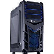 Gabinete Mid Tower Gamer Eruption V2 Azul 24857 - Vinik