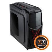 Gabinete ATX Mach II Mid Tower Black EN6732 - Xigmatek