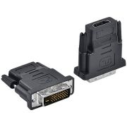 Adaptador HDMI Femea x DVI 24+1 Macho AHF-DVI 23576 - Vinik