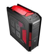 Gabinete ATX Xpredator Devil Red Window EN52436 - Aerocool