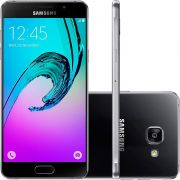 Smartphone Galaxy A7 A710M/DS, Octa Core 1.6Ghz, Android 5.1, Tela 5.5 Super Amoled, 16GB, 5MP+13MP, 4G, Preto - Samsung