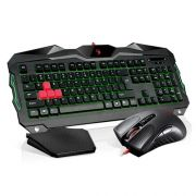 Teclado e Mouse Gamer Bloody USB Desktop B2100 - A4tech