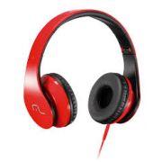 Headphone com Microfone para Celular Vermelho PH112 - Multilaser