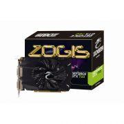 Placa de Vídeo Geforce GTX 750 1GB DDR5 128 Bits ZOGTX750-1GD5 - Zogis