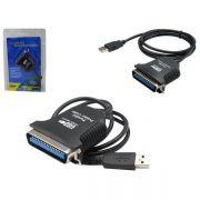 Cabo Paralelo USB Adaptador de Impresora e Conversor BF-1284 AD0011 - OEM