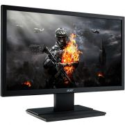 Monitor Gamer LED 24 Full HD, 5ms, VGA/DVI/HDMI, eColor, ENERGY STAR, Preto V246HL - Acer