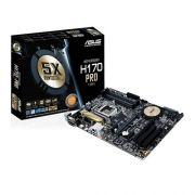 Placa Mãe LGA 1151 H170-PRO DDR4 USB 3.1 90-MB0NC0-M0AAY0 - Asus