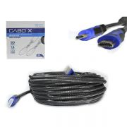 Cabo HDMI 15 Metros v1.4 com Filtro e Malha CBX-H150CM CB0079EX - Exbom