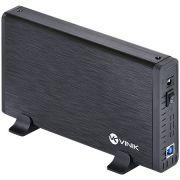 Case Externo para HD 3,5 Alumínio com Chave I/O USB 3.0 24387 - Vinik