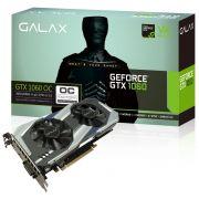 Placa de Vídeo GeForce GTX 1060 OC Entusiasta 3GB 192Bits 8008MHZ 60NNH7DSL9C3 - Galax