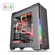 Gabinete TT Versa C21 RGB Black/SPCC/Full Window CA-1G8-00M1WN-00 - Thermaltake