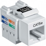 Conector RJ-45 Femea Cat.5E SohoPlus Branco FCS 35050411 35012 - Furukawa